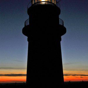 Gay Head Lighthouse Sunset - photo